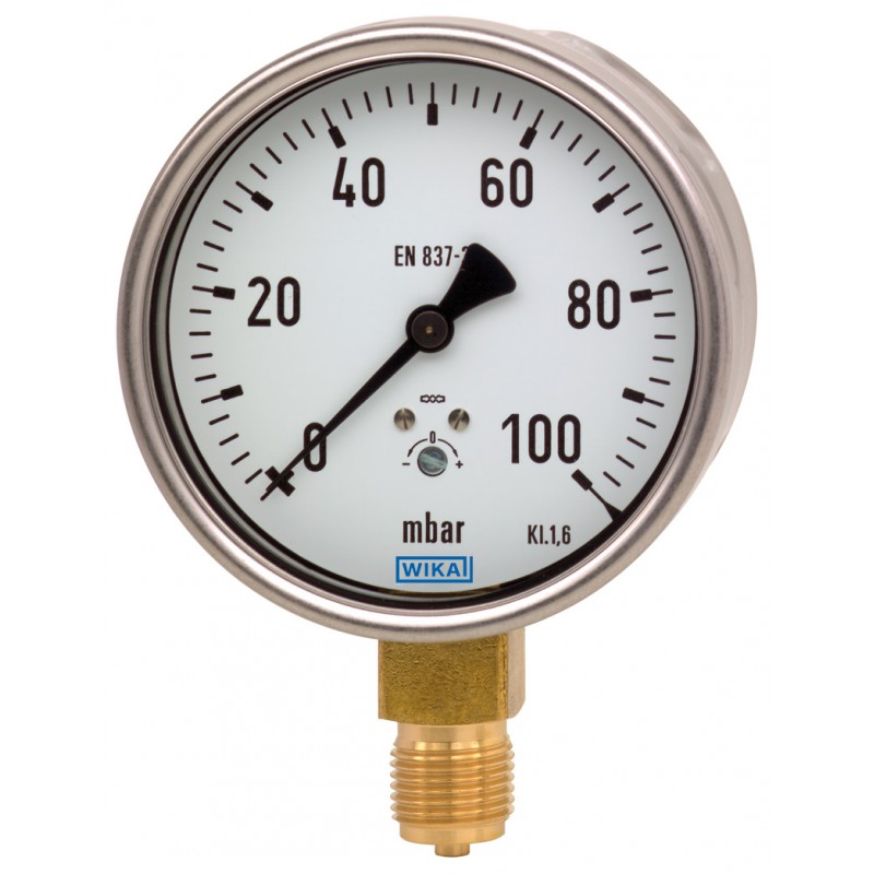 Thermomètre bimétallique A50 WIKA