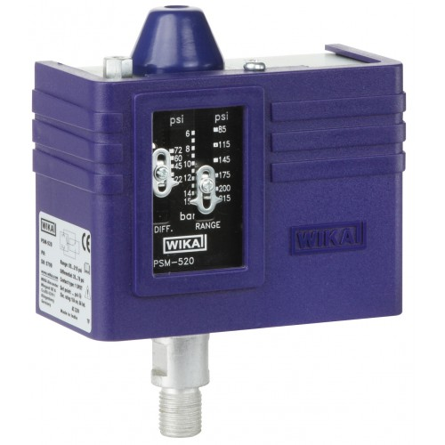 Pressostat mécanique PSM 520