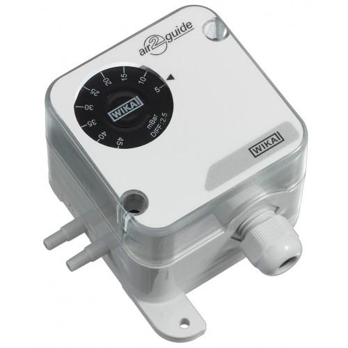 Pressostat pour pression relative et différentielle A2G-40